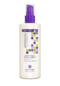 Andalou Naturals Lavender & Biotin Full Volume Style Spray 8.2 Ounce