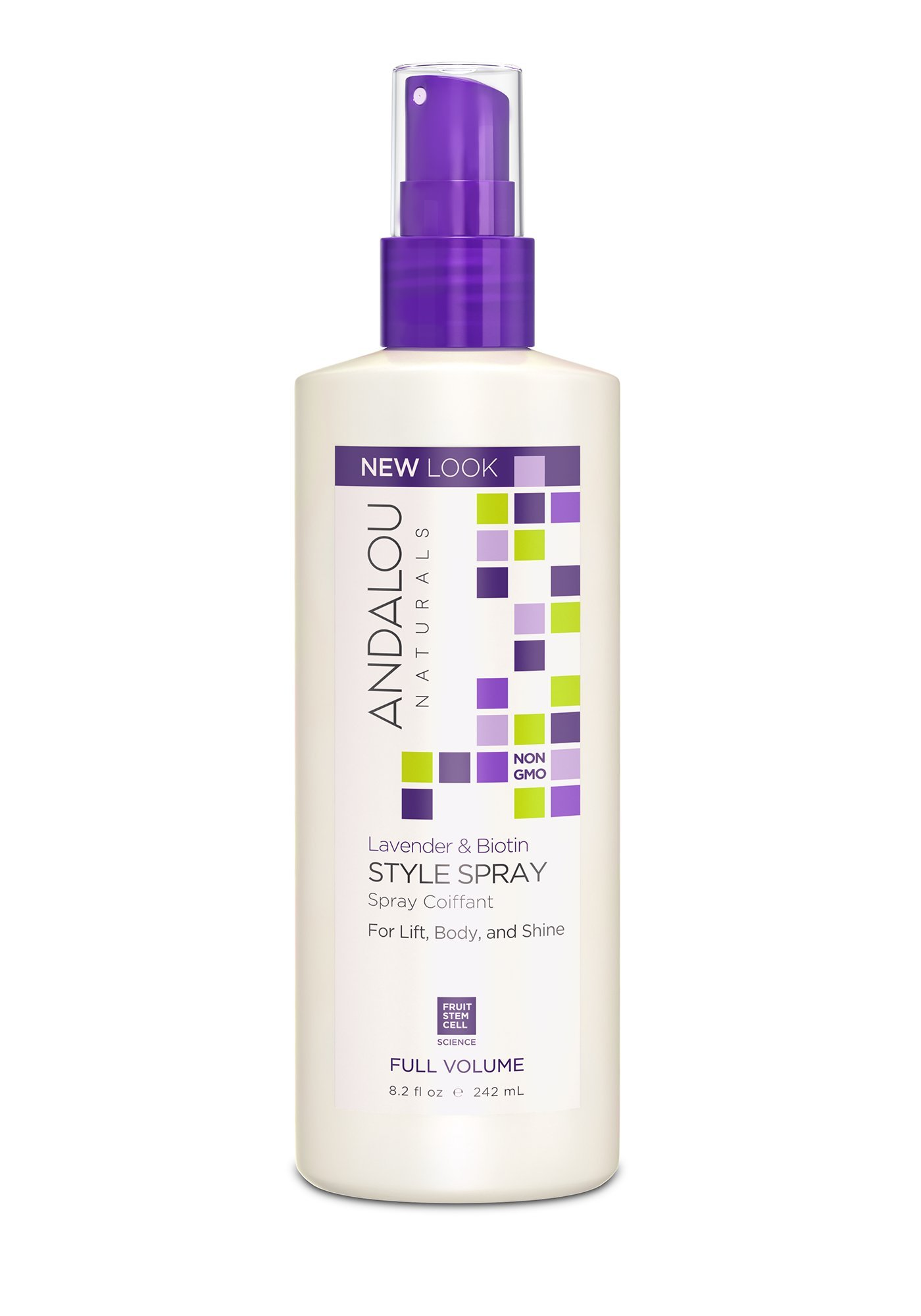 Andalou Naturals Lavender Biotin Full Volume Shampoo Clear Complete Soft Care Men 340 Ml Style Spray 82 Ounce