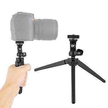 kingwon cámara portátil trípode de Escritorio, Aluminio Mini ...