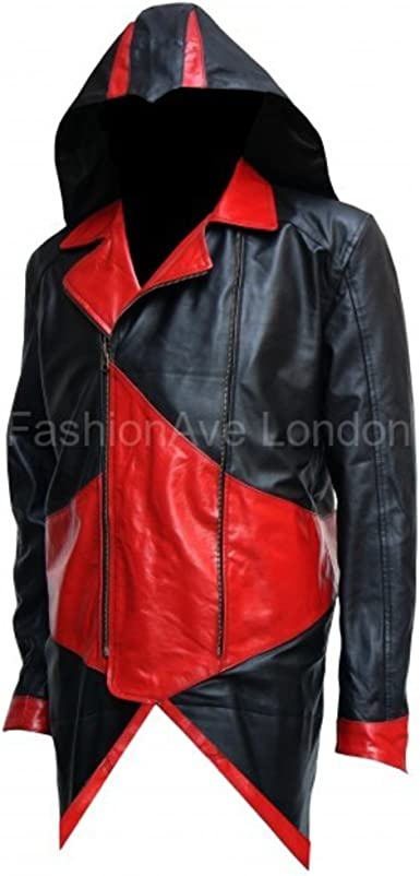 FashionAve London Mens Black 100/% Real Quality Leather Motorcycle Jacket