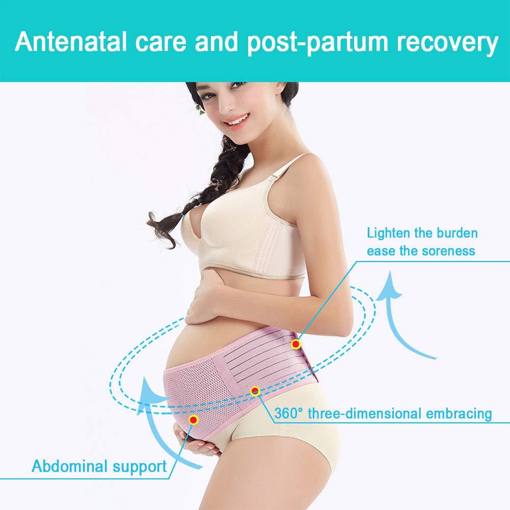 SIYWINA Maternity Support Belt Pregnancy Support Belt Belly Band St/ützg/ürtel Schwangerschaft