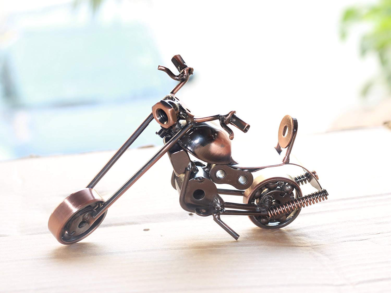 Home Decor Motor Bike Miniature Showpiece