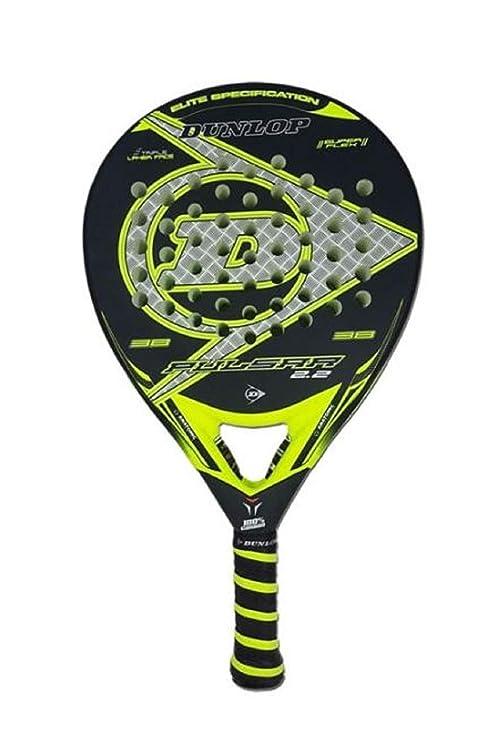 Dunlop Pala Padel Pulsar 2.2. Yellow: Amazon.es: Deportes y aire libre