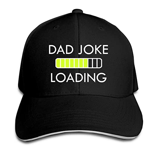 3bdf1ed3e5b55 Image Unavailable. Image not available for. Color  Dad Joke Loading  Sandwich Baseball Cap ...