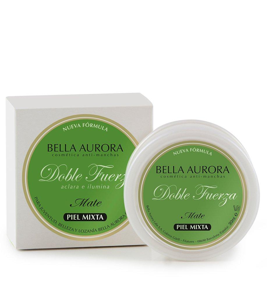 Bella Aurora Doble Fuerza Crema de Belleza Mate para Piel Mixta-Grasa - 30 ml: Amazon.es: Belleza