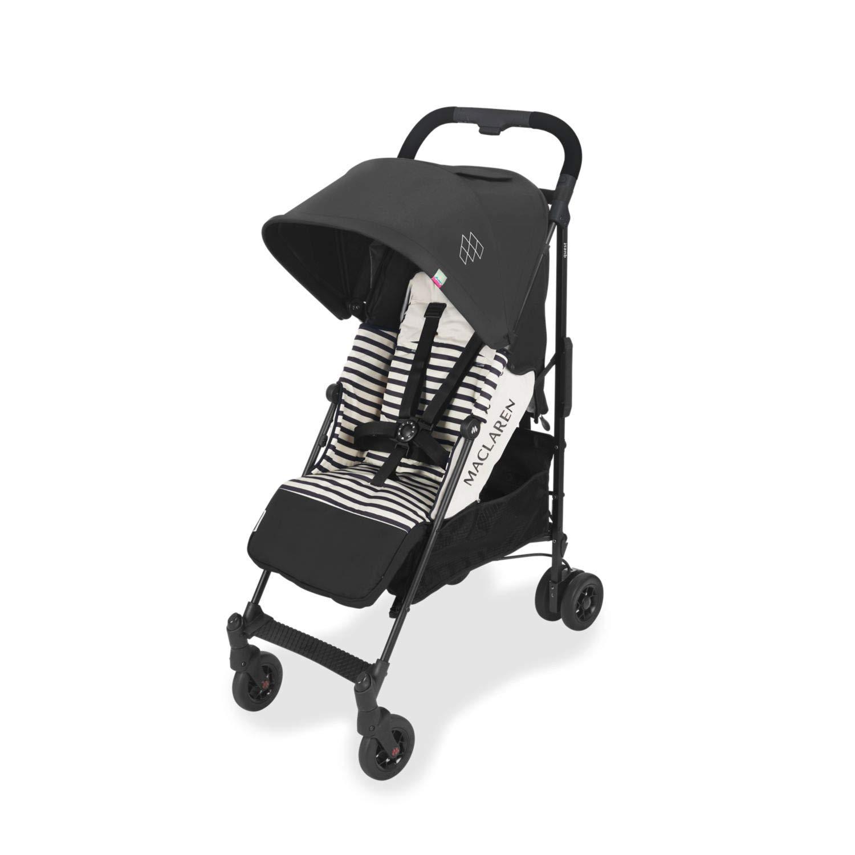 Maclaren Quest arc Stroller - lightweight, compact, Railroad Stripe