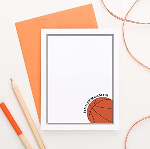 Basketball Fill In Cards ~ Personalized Thank You Notes