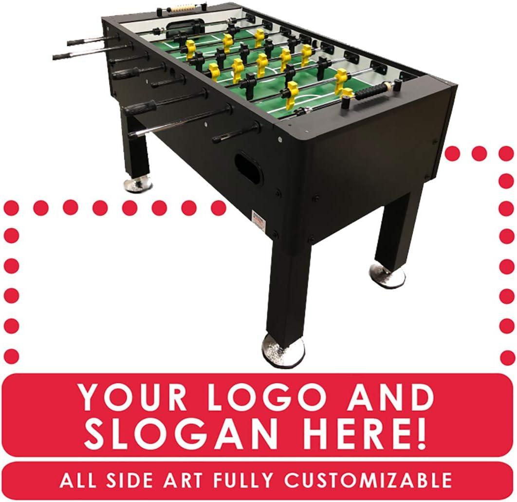 Sala de juegos Guys Custom Home mesa de futbolín: Amazon.es: Deportes y aire libre