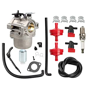 Butom 799727 Carburetor with Air Filter Fuel Filter Shut Off Valve Carb for Briggs & Stratton 698620 690194 791886 499153 498061 14hp 15hp 16hp 17hp 17.5 HP 18hp Craftsman Lawn Tractor Mower