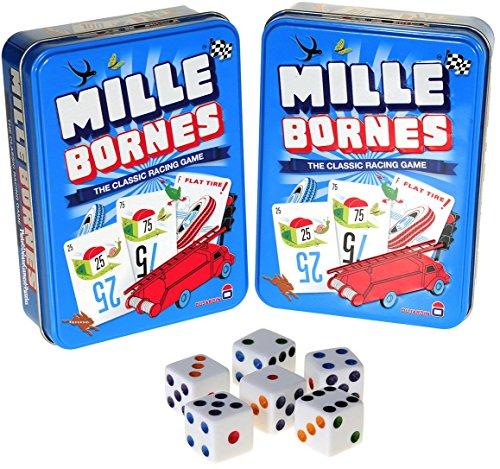 me in Tin _Bundle of 2 Identical Games _with 6 Bonus white (D6) Dice ()