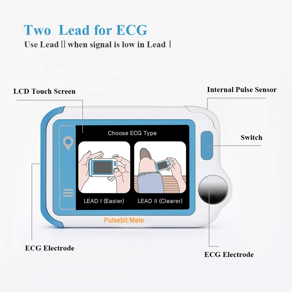 ECG/EKG Heart Health Tracker, Portable Heart Rate Monitor with PC Software, Household Heart Performance for Fitness & Sport, General Wellness Use by ViATOM (Image #5)