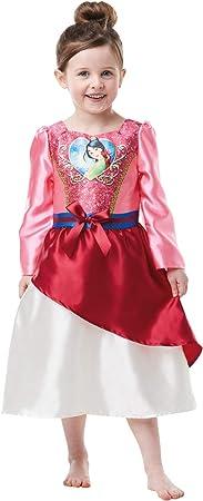 Rubies - Disfraz de princesa Disney con lentejuelas, talla para niños ...