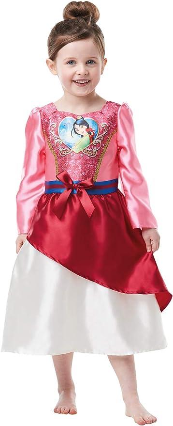 Bambina M Rubies 889.217-M Costume per travestimento da Mulan