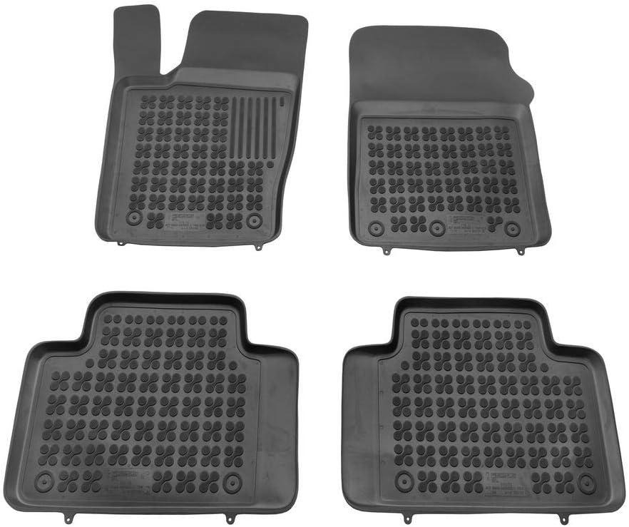 Accessoires Voiture Tapis Sol sur Mesure + Cadeu /à partir de 2010 Rezaw-Plast Tapis de Sol en Cautchouc Compatible avec Jeep Grand Cherokee WK2