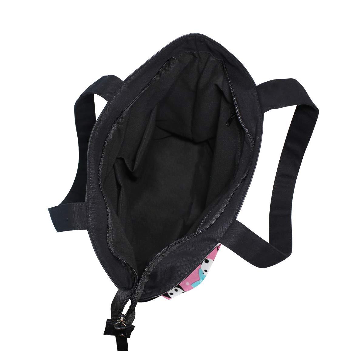 Women Large Tote Top Handle Shoulder Bags Panda Animal Satchel Handbag