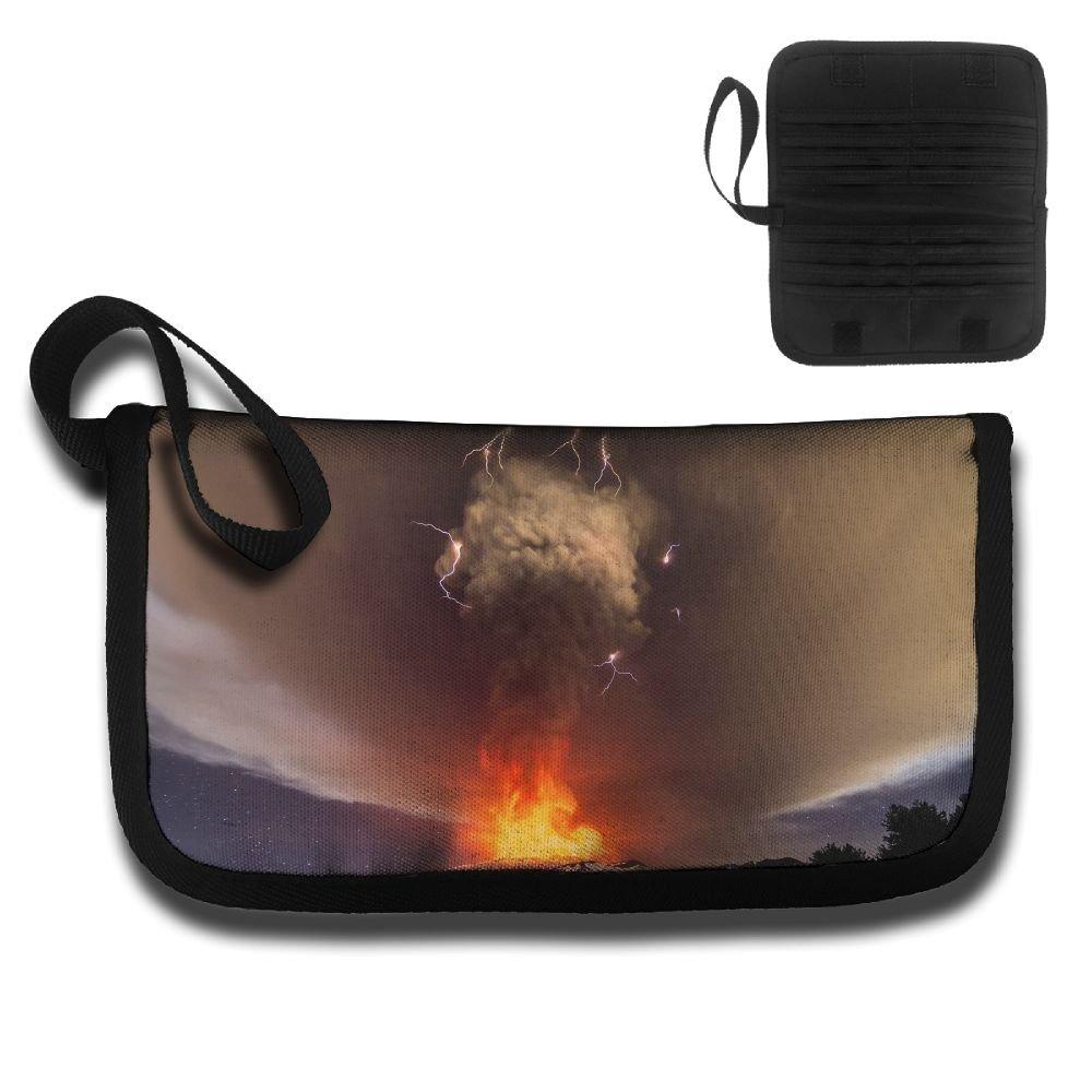 Gili Thunder And Volcanoes Travel Passport   Document Organizer Zipper Case  free shipping cdd95687c2ebc