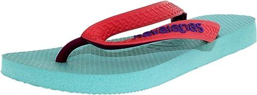 Havaianas Tongs Hav Top Mix Azul Prateado Sylver Blue Bleu Argenté 4115549 7606