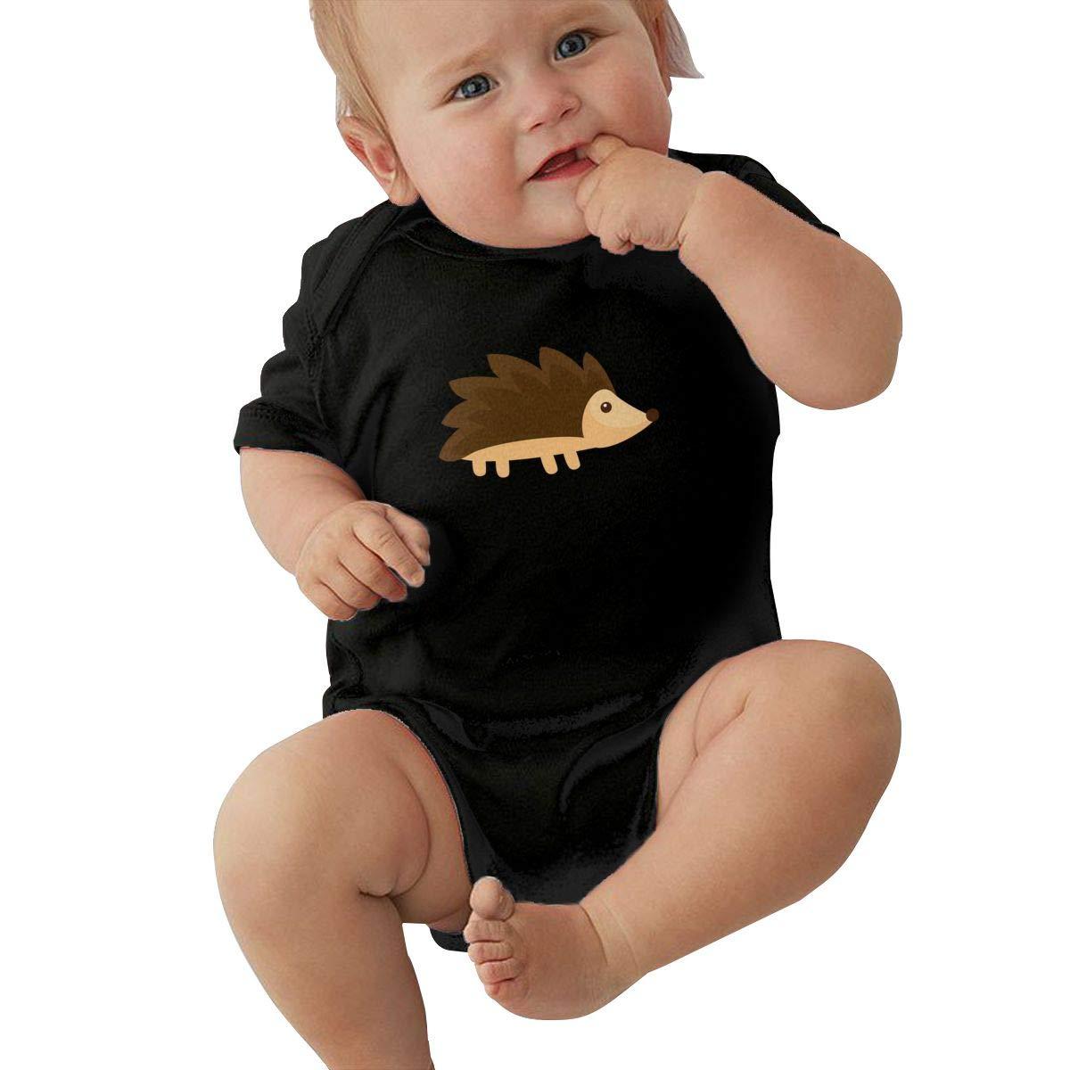 Toddler Baby Boys Bodysuit Short-Sleeve Onesie Hedgehog Print Outfit
