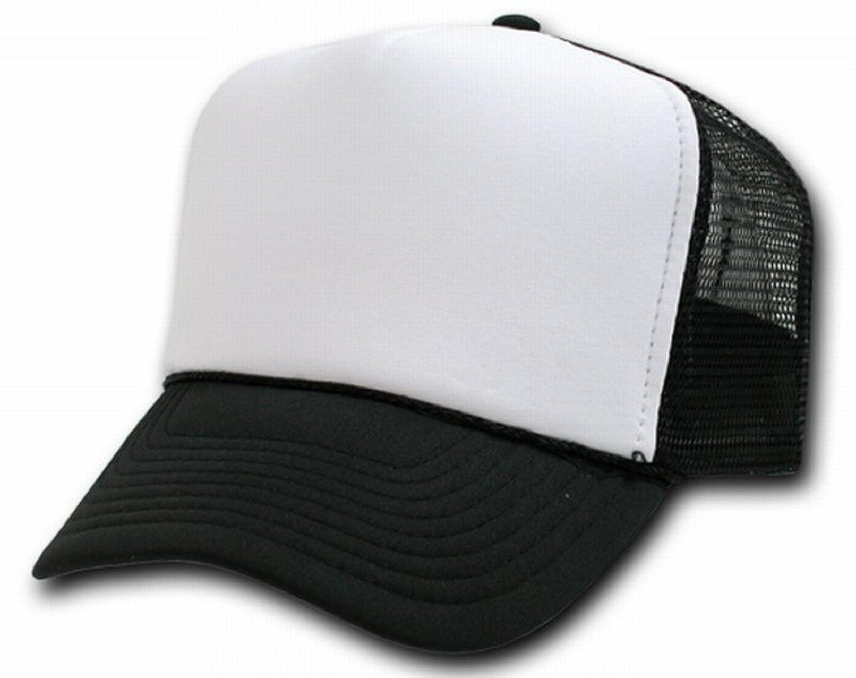 5b0931af7aa Amazon.com  DECKY Two Tone Trucker Mesh Caps Plain Baseball Hat  Clothing