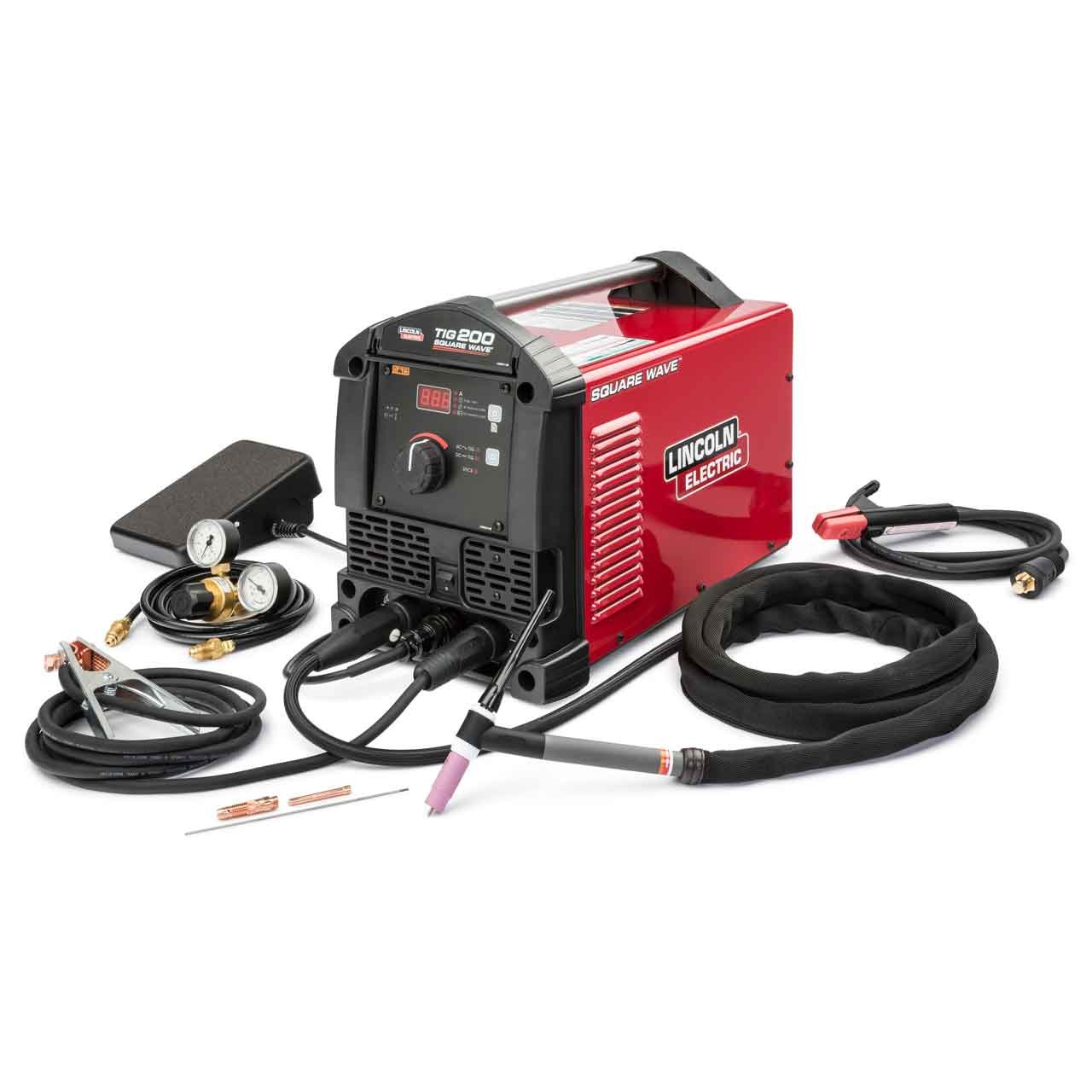 3. Lincoln Electric Square Wave TIG 200 TIG Welder, K5126-1