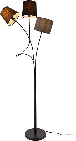 lux.pro Stehleuchte 'Treviso' 146cm 3X E14 max. 40W