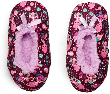 Girls Babba Fuzzy Socks Sugar Plum
