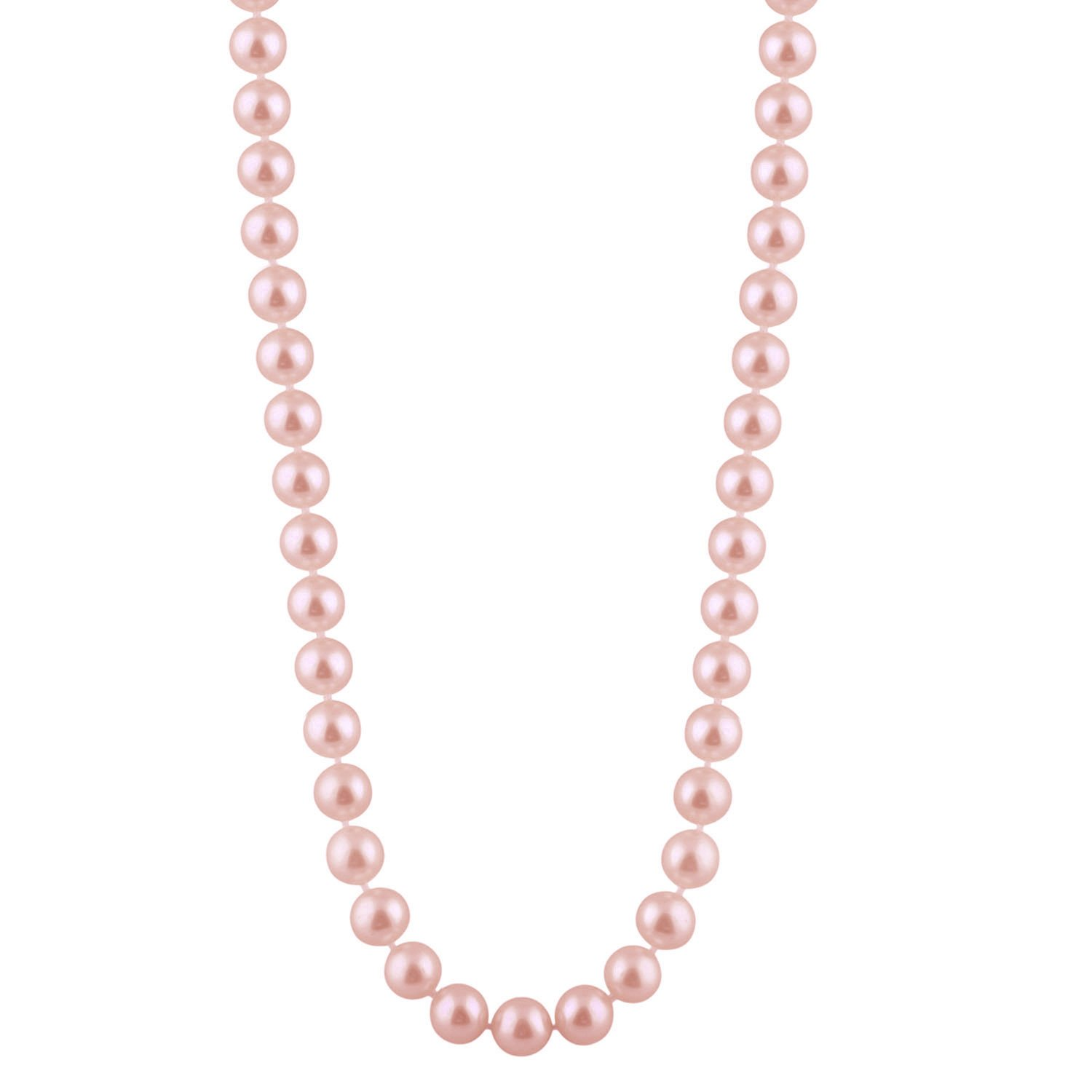 Gift for Mother and lady,ELAINZ HEART AAAA freshwater cultured pearl necklace