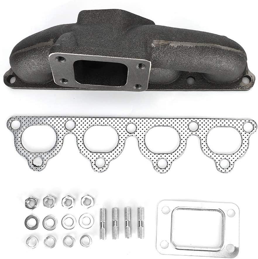 Gasket Kit Fit Compatibile con H-O-N-D-A Civic//CRX//del sol D15 D16 T3 T3T4 Vikenar Turbo Flangia in ghisa collettore