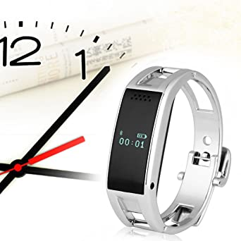 Amazon.com: Excelvan Bluetooth Smart Bracelet Watch Sync ...