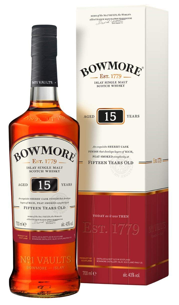 4ef46e42d98 Bowmore 15 Year Old