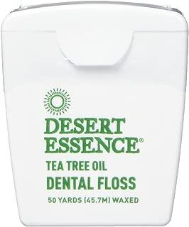 product image for DESERT ESSENCE Tea Tree Dental Floss Display 6 Piece, 0.02 Pound