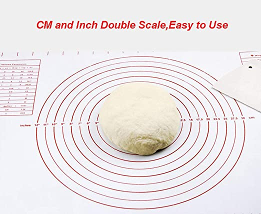 Baking Mat Non Stick Silicone BPA Free with Measurement for Rolling Out Dough US