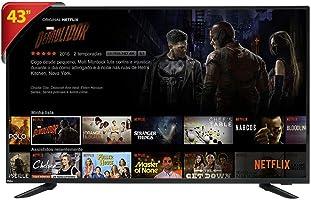 """Smart TV 43"""" LED Philco PTV43E60SN Full HD com Wi-Fi, 2 USB, 3 HDMI"""