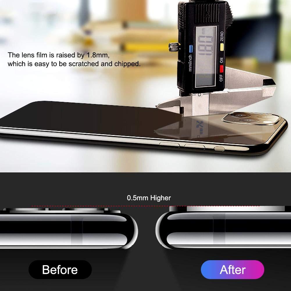 Film de protection en verre tremp/é pour iPhone 11 Lens,Film de protection pour objectif dappareil photo de qualit/é sup/érieure,film en titane pour objectif en duret/é de qualit/é diamant pour iPhone 11