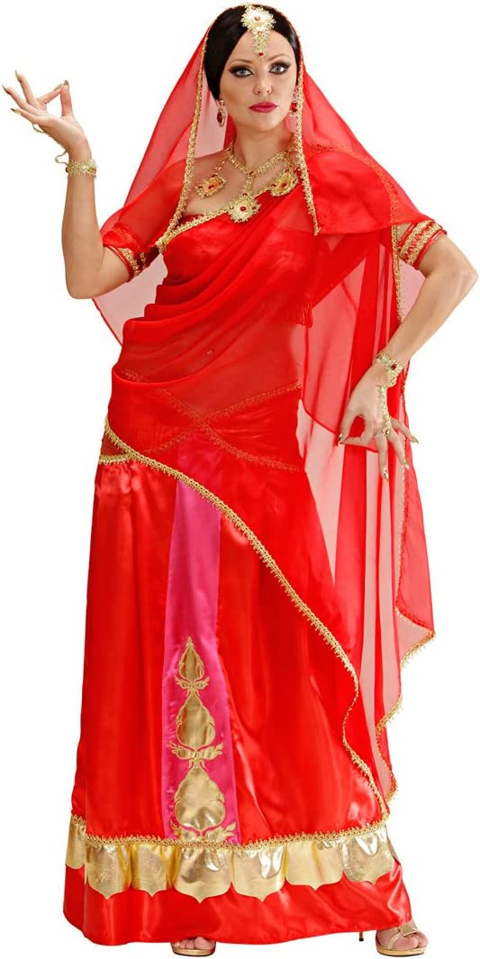 NET TOYS Disfraz Dama Bollywood - M (ES 40/42) | Vestido Bailarina ...