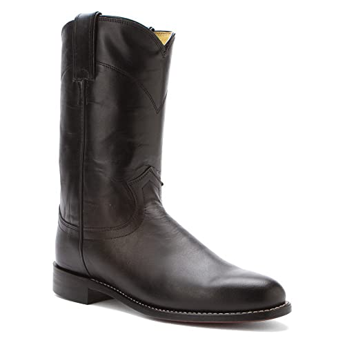 6ce184d7775 Amazon.com: Justin Boots Women's L3703 10-Inch Black Kipskin 10 A: Shoes