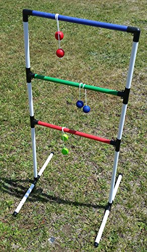 HB Sports Ladder Toss Game - Fun Outdoor Back Yard Ladder Golf Ball Game by HB Sports