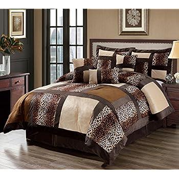 Zebra Print Bed In A Bag Queen Size