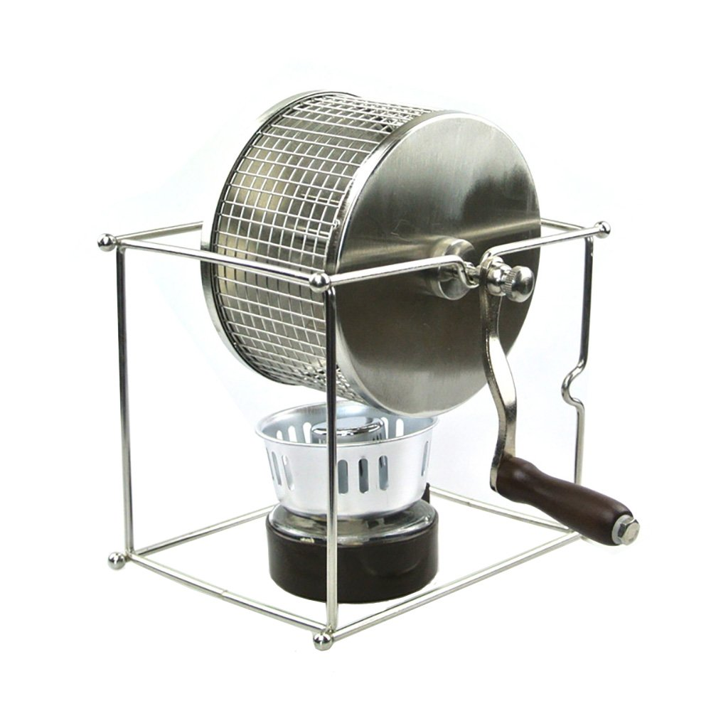Purposefull Coffee Bean Roaster - Made From Stainless Steel - Manually Operated - Ideal For Home Use - FDA and LFGB Certified Purposefull Products