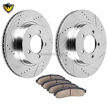 See Desc. Max Performance Ceramic Brake Pads F+R 2013 Fit Jeep Grand Cherokee