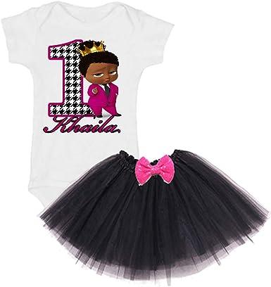 Amazon.com: Tutú personalizado para niña de primer ...