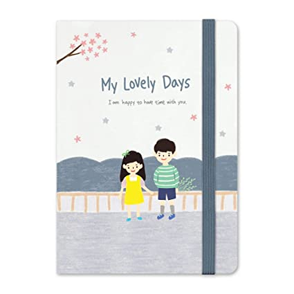 7321 Design MY LOVELY DAYS Diary Planner Personal Organizer Valentines (You and I)