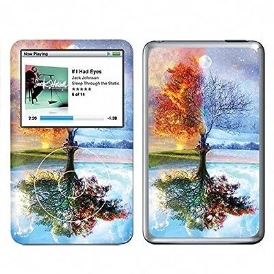 Four Seasons Tree Apple iPod Classic Sticker Vinyl Skin KPC-063 by Thailand