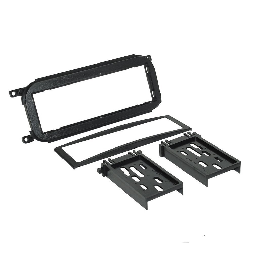 CAR Radio Stereo CD Player Dash Install MOUNTING Trim Bezel Panel KIT + Harness for Dodge Chrysler Jeep 2002-2007 by American International , Metra, Scosche (Image #1)
