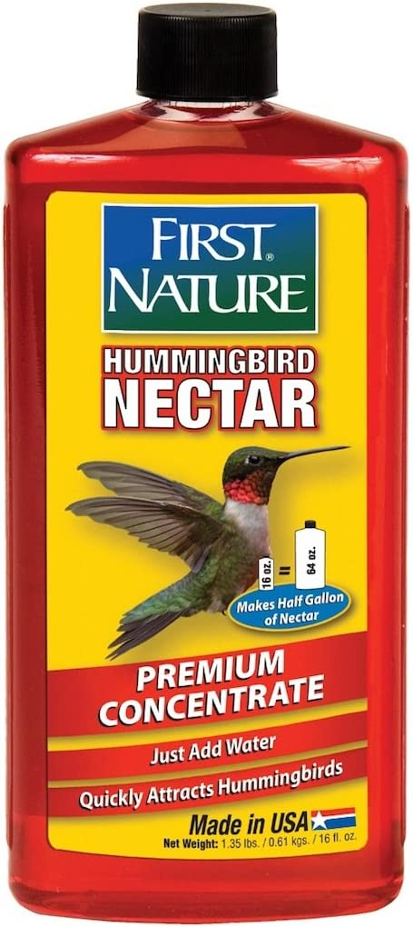 First Nature FN3050 16 oz Red Hummingbird Nectar Concentrate