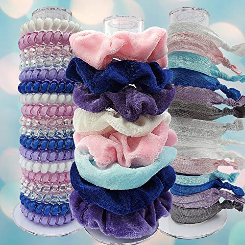 Joyora Scrunchie Holder Stand, for Teen Girl Gifts, The Perfect Scrunchy Display Organizer