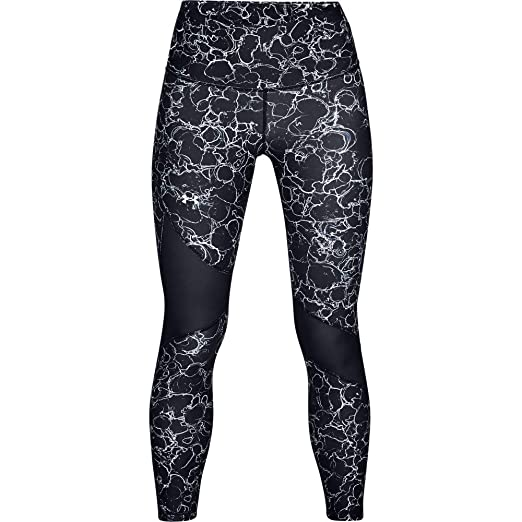 Sporting Goods Leggings Under Armour Womens 2018 Heatgear Training Printed Compression Tights Orange To Rank First Among Similar Products