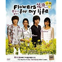 Flowers for my life Korean Tv Drama Dvd (4 Dvds) English Subtitle All Region by Cha Tae Hyun