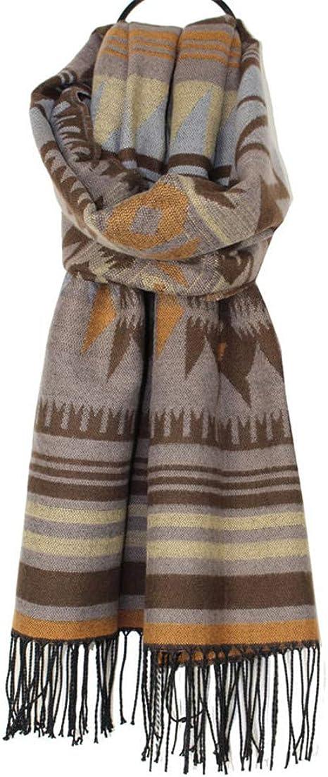 TALLA 184. AiNaMei Bufanda de cachemira de imitación de calor de otoño e invierno para hombres y mujeres