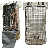 Exselle Lined Bridle Halter Carry Bag, Plaid